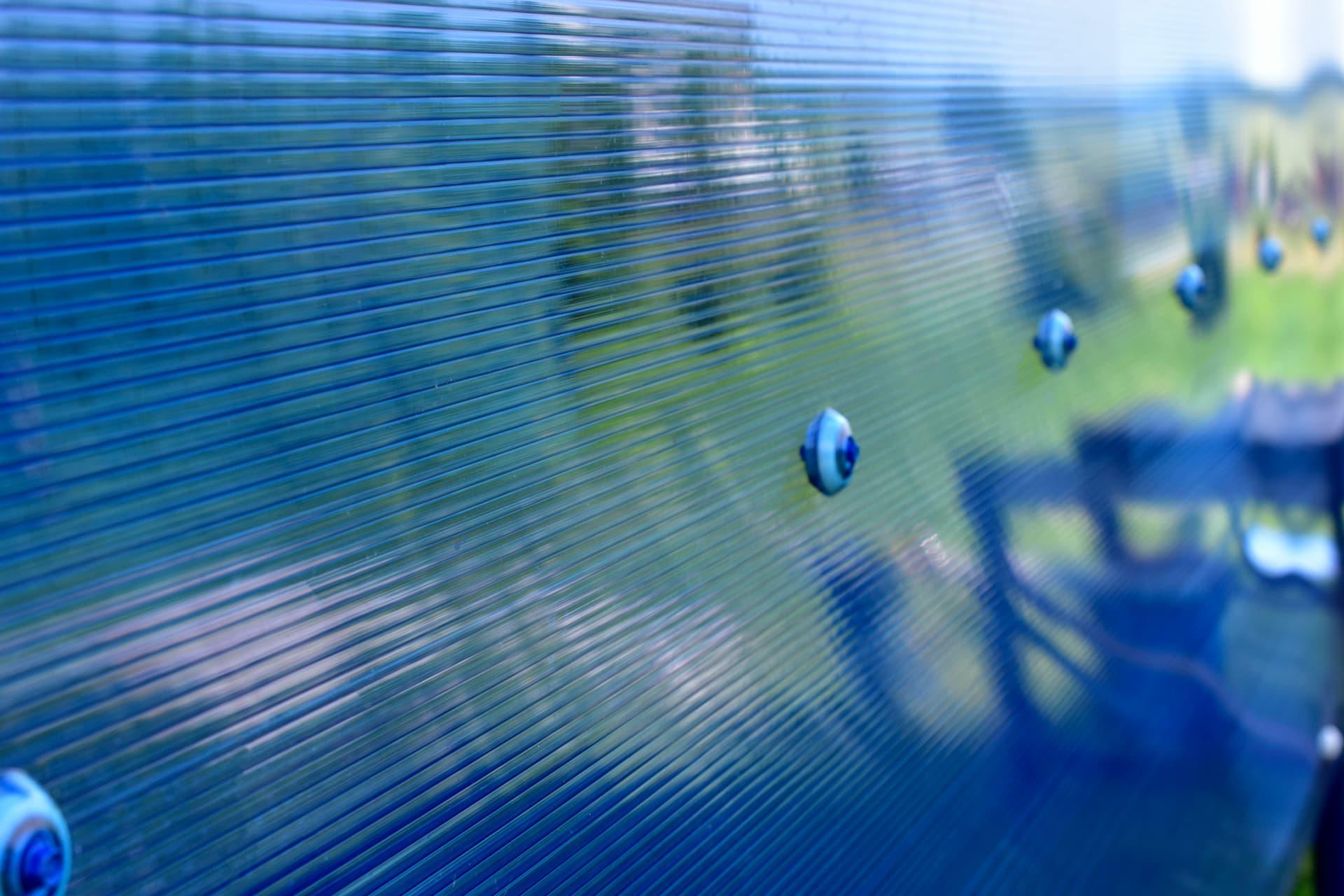 transparent hurricane shutters