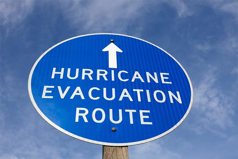 Hurricane procedures in school